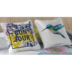 Pillowcase Bon Jour 50x50 cm