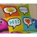 Pillowcases Hello 50x50 cm