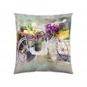 Poszewka na poduszkę Garden Bike 50x50 cm