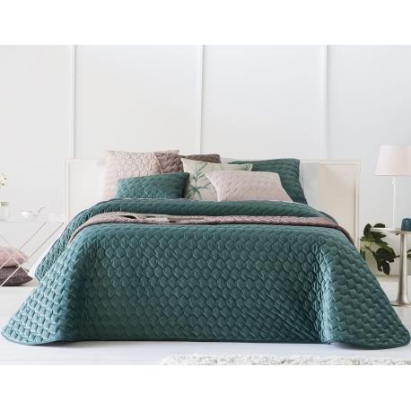 Bedspread Naroa Esmeralda 250x270 cm velvet