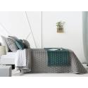 Bedspread Naroa Gris 250x270 cm velvet