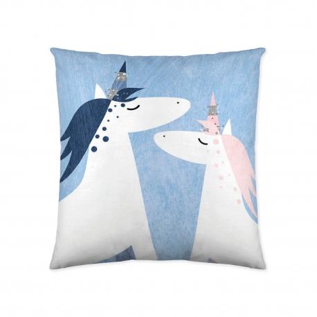 Spilveni spilvendrāna Unicorn 50x50 cm