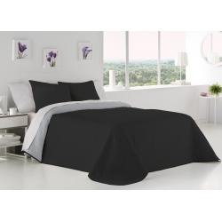 Bedspread Palermo Negro 250x270 cm