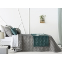 Bedspread Naroa Gris 235x270 cm velvet