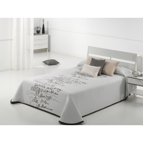 Bedspread Letter 190x270 cm