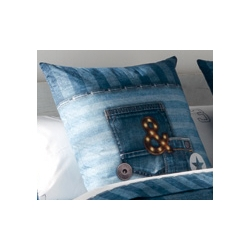 Poszewka na poduszkę Jeans 60x60 cm