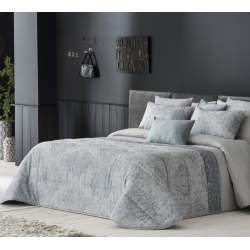 Narzuta Wanda Azul 250x270 cm, i 2 pokrowce na poduszki