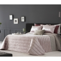 Bedspread Boston Rose 250x270 cm, 2 pillow cases included