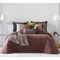 Bedspread Nantes Terra 250x270 cm velvet