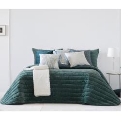 Bedspread Nantes Ocean 250x270 cm velvet