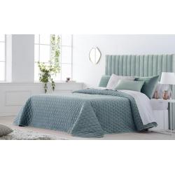 Bedspread Smart Azul 250x270 cm velvet