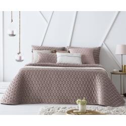 Bedspread Naroa Malva 180x270 cm velvet